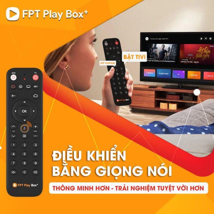 tv box fpt điều khiển bằng giọng nói
