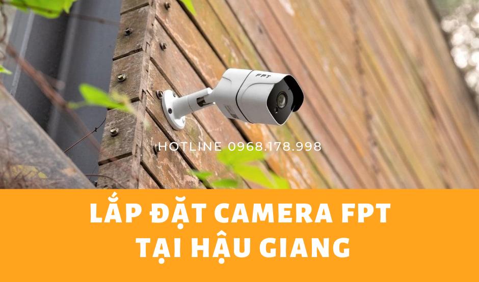 Lắp đặt Camera FPT Hậu Giang