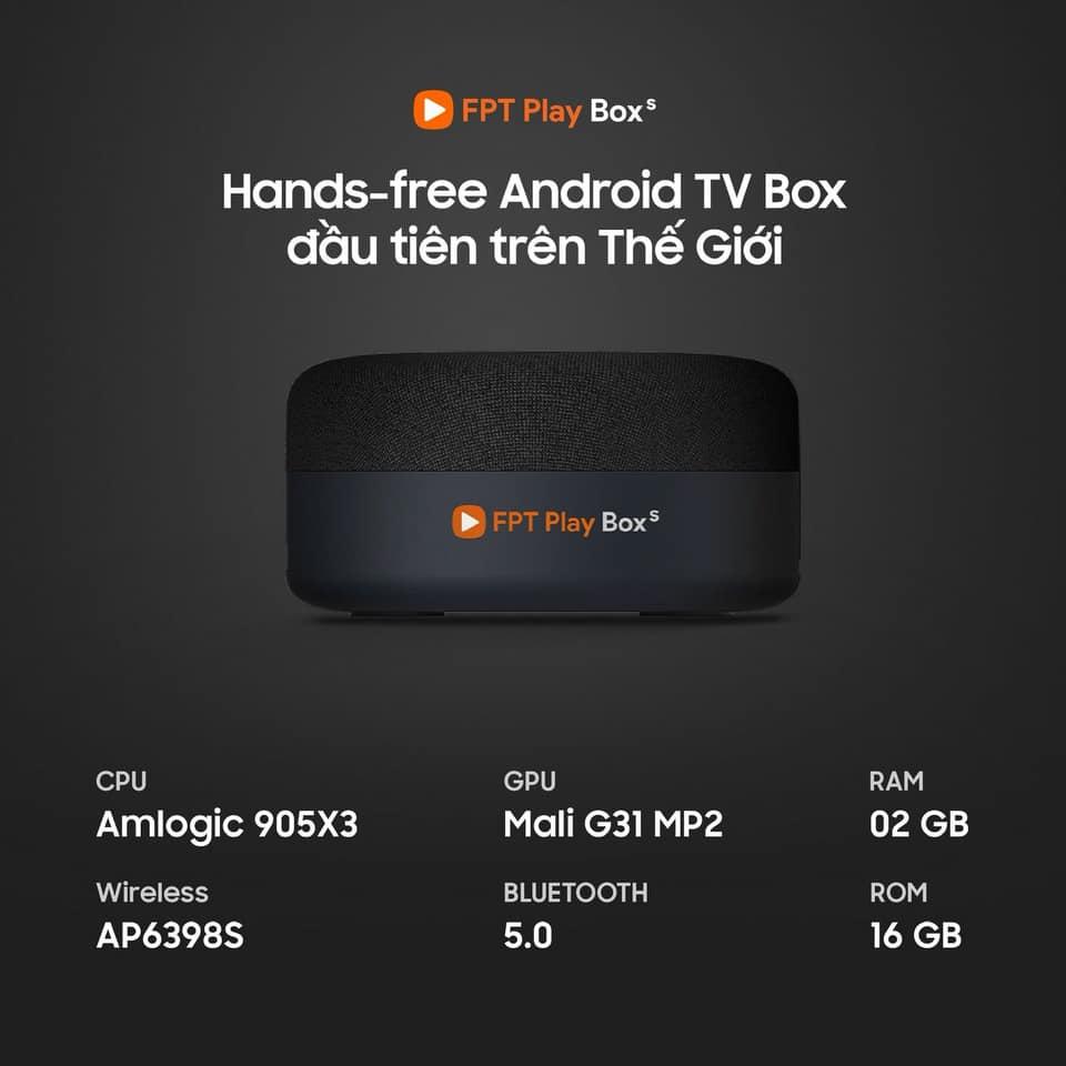 Cấu hình FPT Play Box S 2021